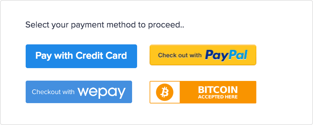 accept payments online
