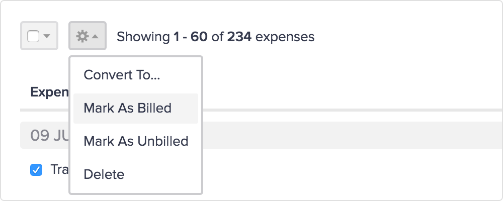 track expenses