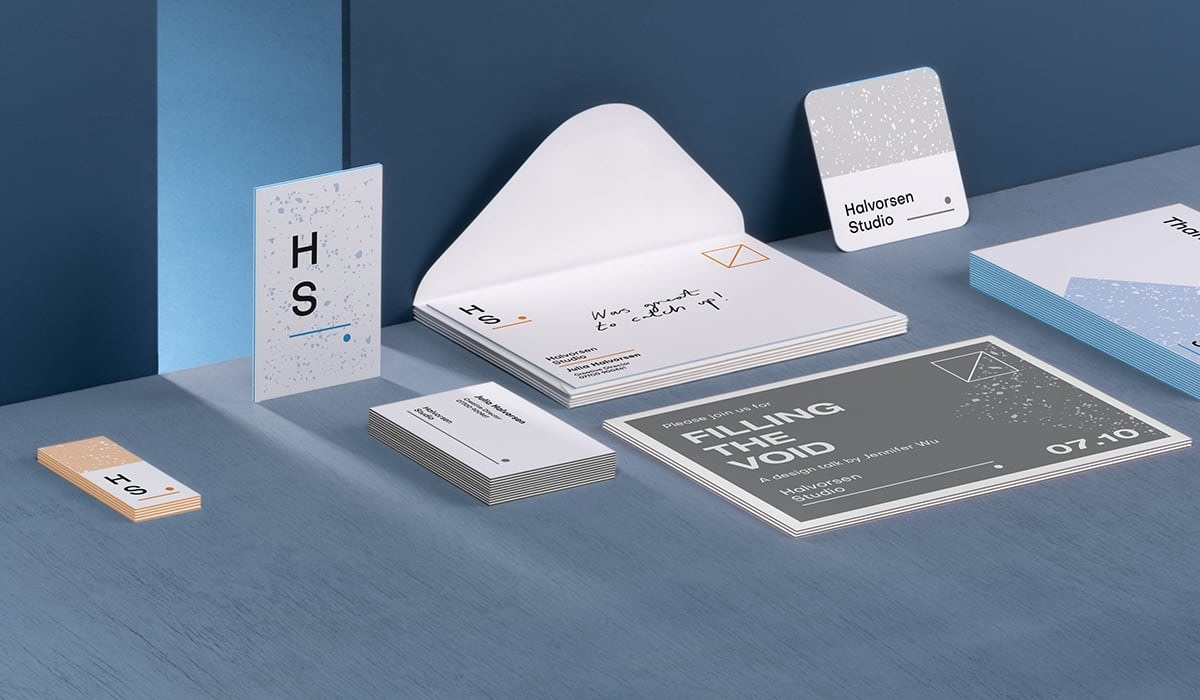 Elegant business card designs from Moo