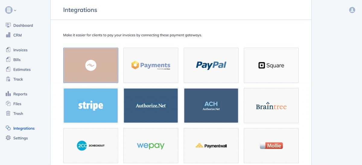 Payment gateway integrations in Hiveage