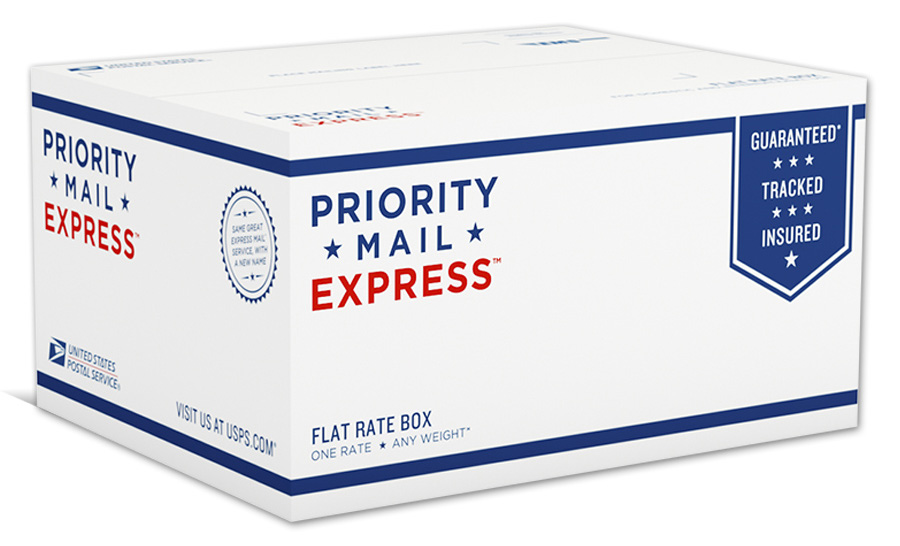 USPS Priority Mail Express box