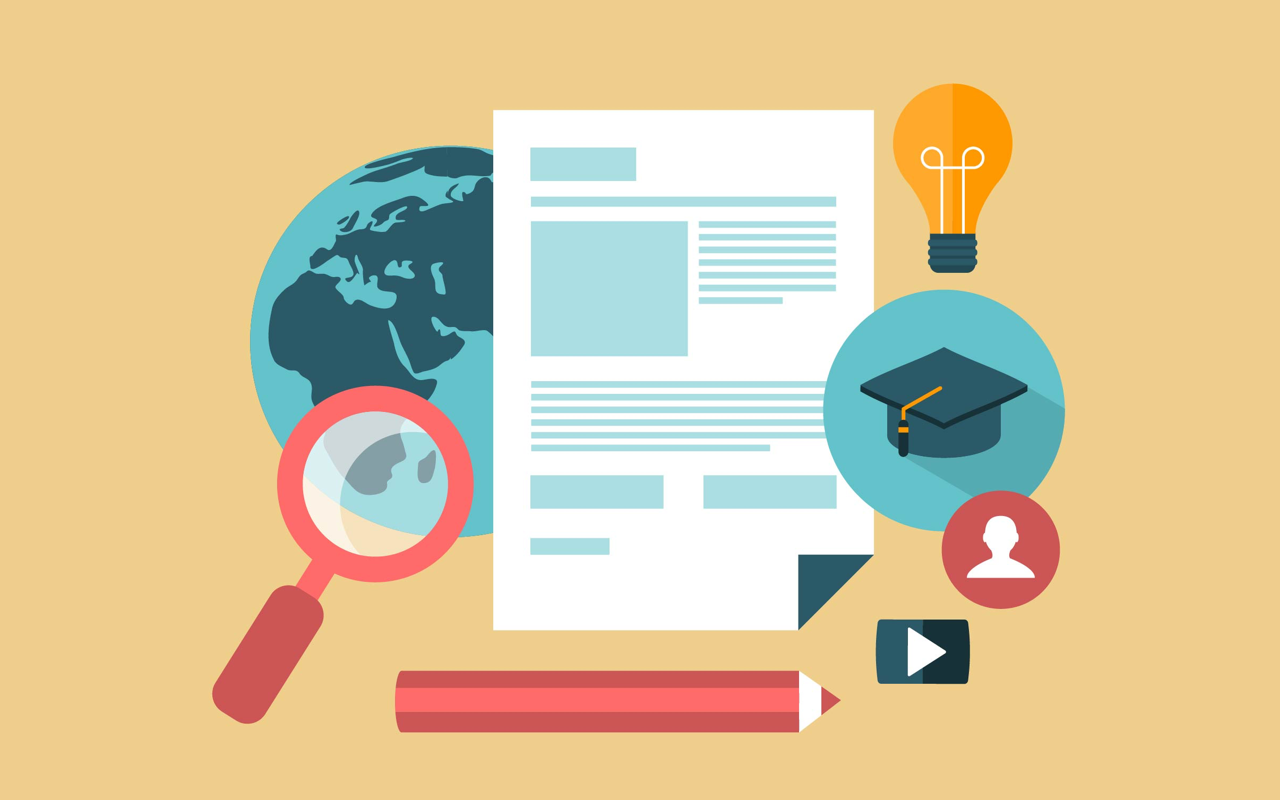 Online marketing certifications—illustration