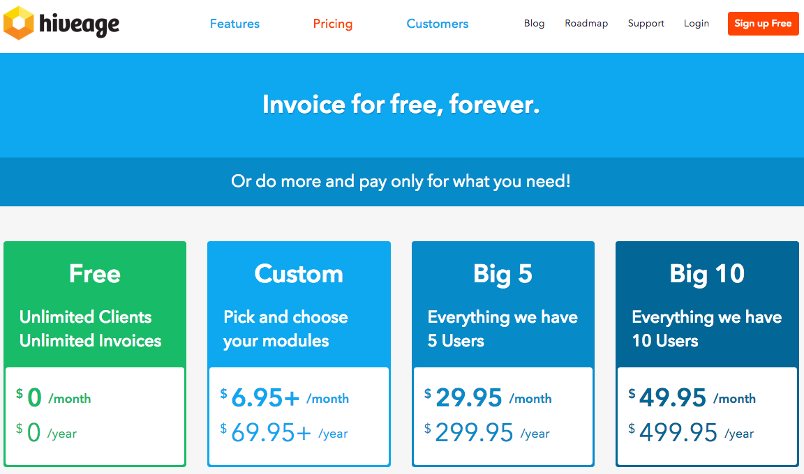 Freemium pricing