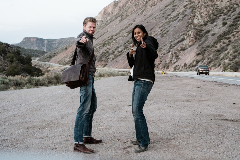 Charlene and Flemming in New Mexico