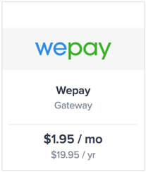 Now get paid via WePay and Google Wallet!