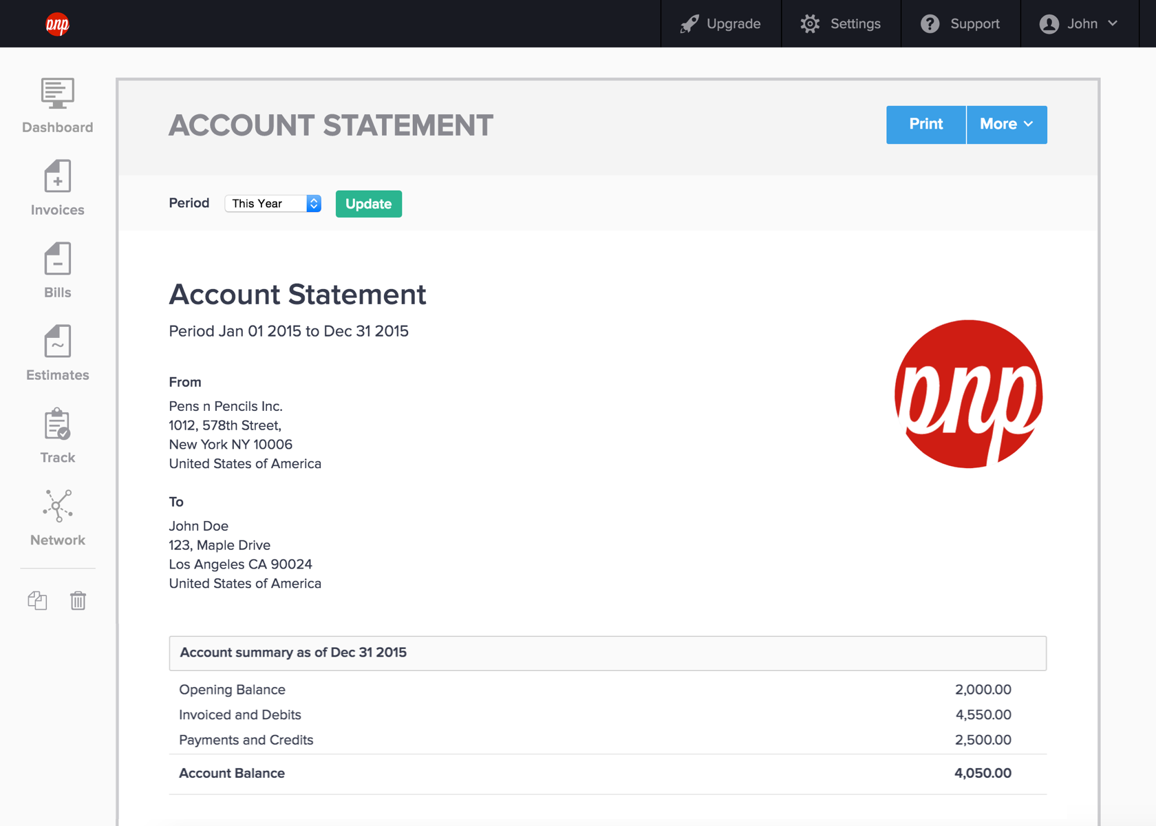 Introducing Account Statements