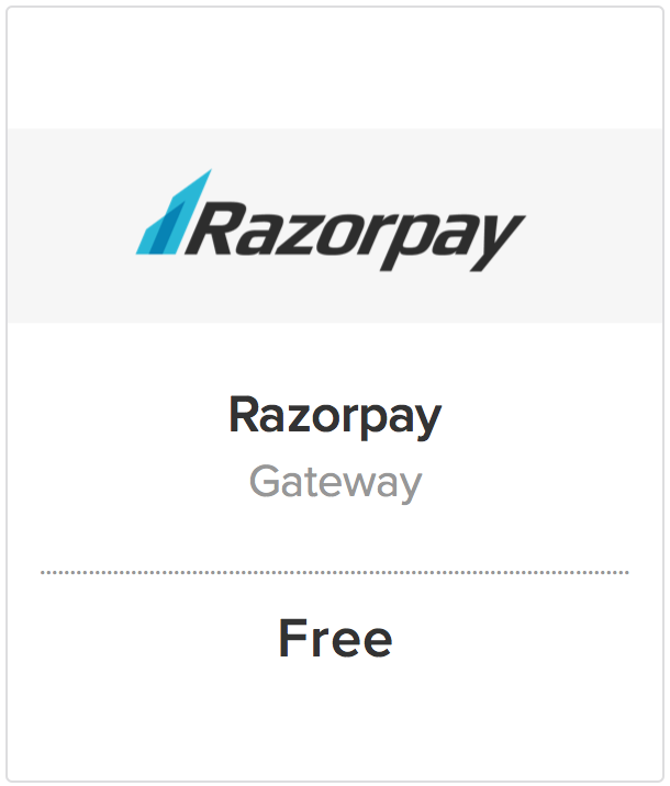 Accepting Payments in India with Razorpay