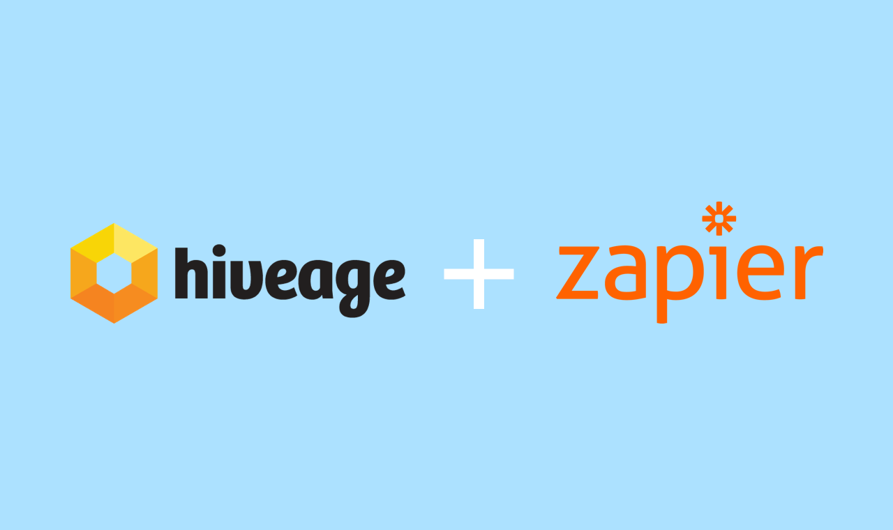 Zapier Integration: Connect Hiveage to Hundreds of Apps