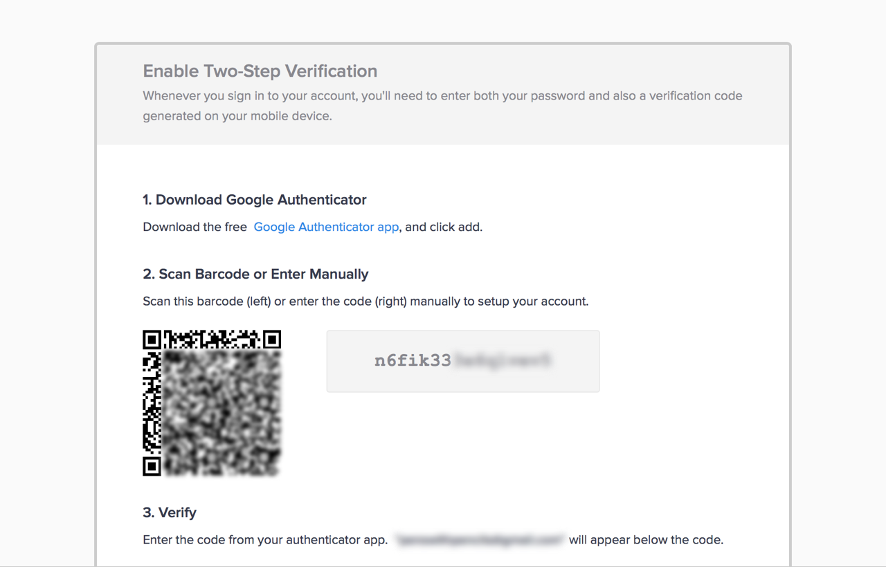 Introducing Two-Step Verification